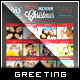 Top Moments - Holiday Greeting Photo Collage Card - GraphicRiver Item for Sale