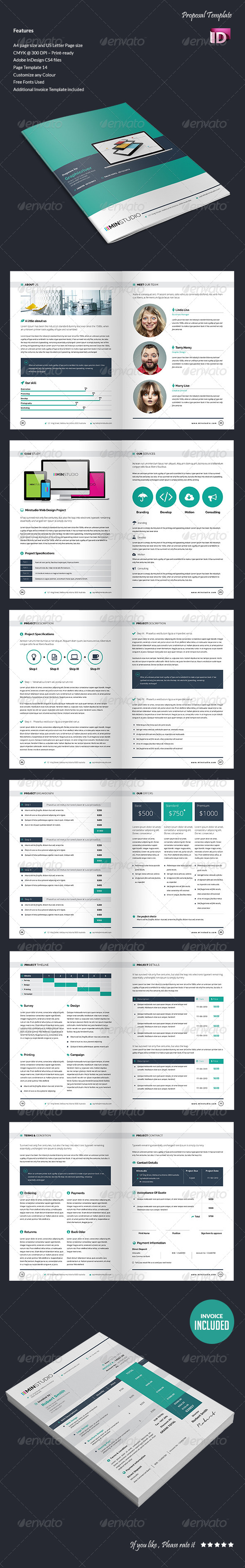 GraphicRiver Proposal Template 5412801
