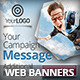 Creative Business Marketing Campaign Web Banners - GraphicRiver Item for Sale