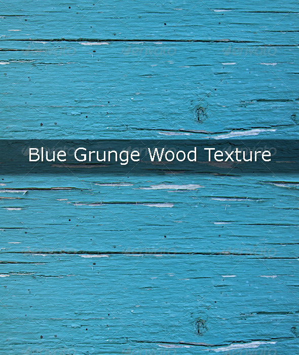 GraphicRiver Blue Grunge Wood Texture 5380412