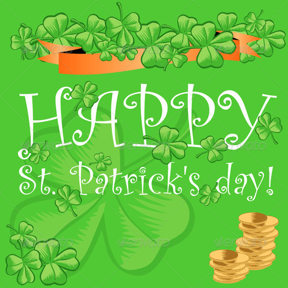 St Patrick s Day Greeting Card