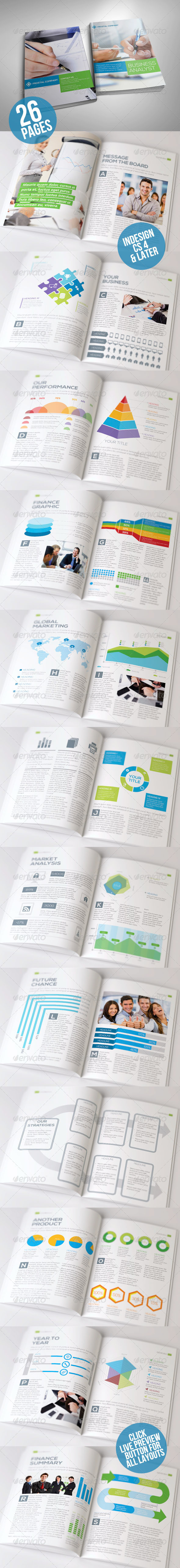 Infographic Annual Report Volume 2 - Corporate Brochures