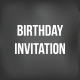 BD Invitation - GraphicRiver Item for Sale