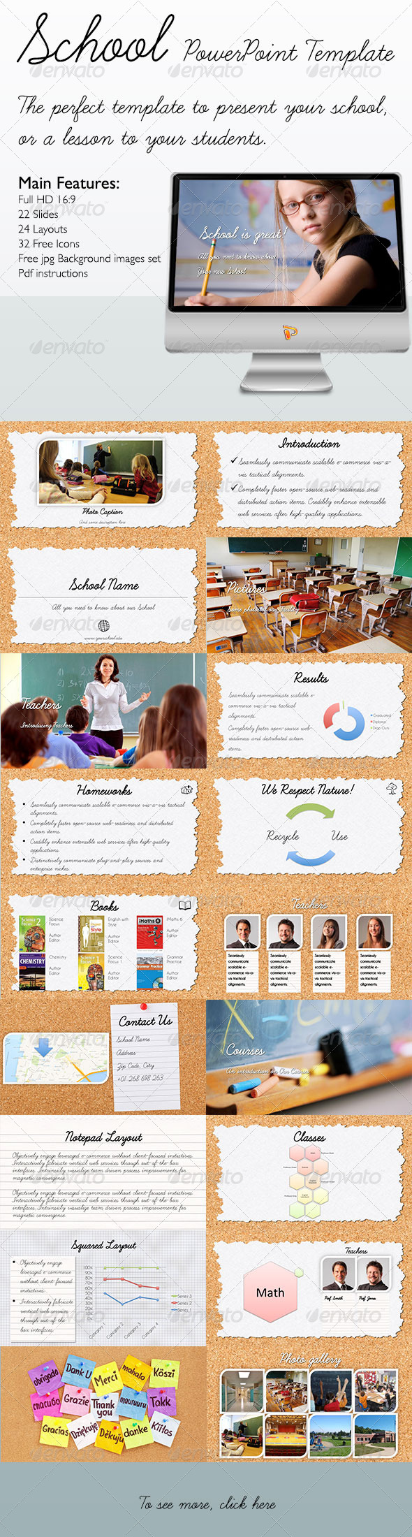 GraphicRiver School PowerPoint Template 5394546