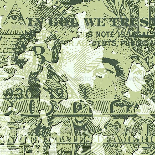 GraphicRiver Grunge Dollar Bill 5413943