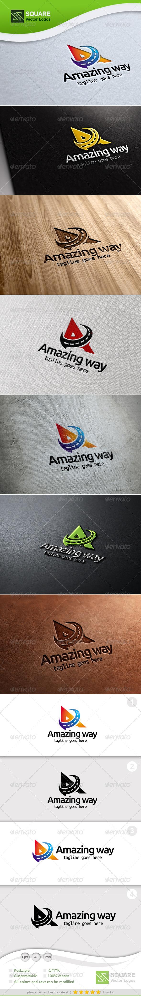 GraphicRiver A Way Vector Logo Template 5414471