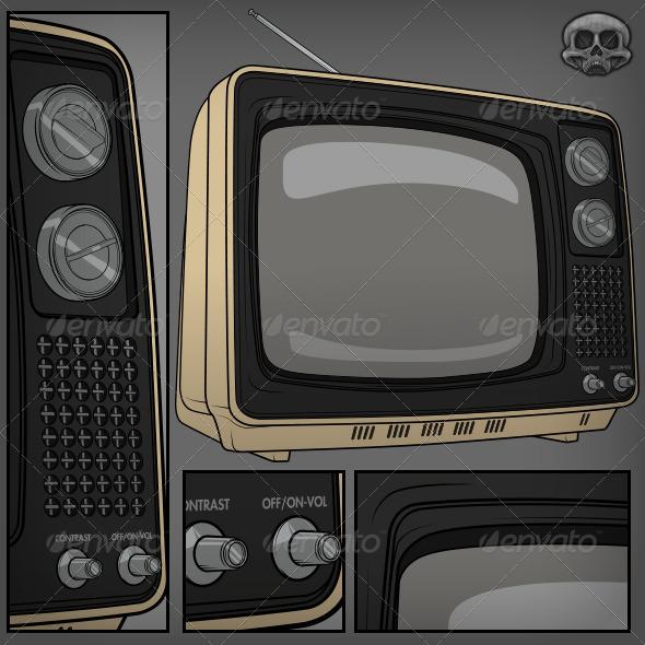 GraphicRiver Retro TV 5414515