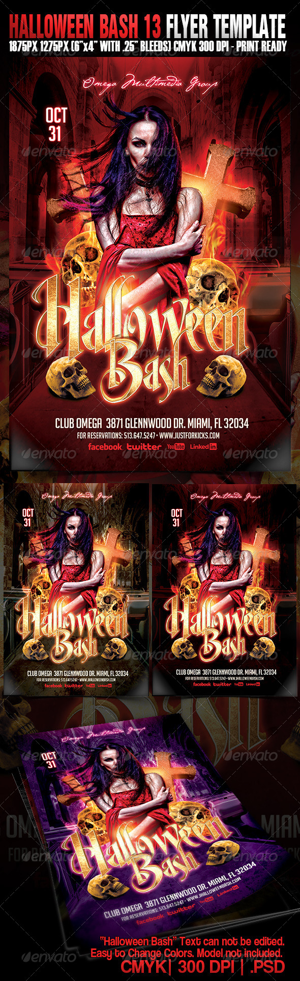 GraphicRiver Halloween Bash 13 5414590