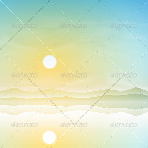 GraphicRiver Simple Landscape 5414611