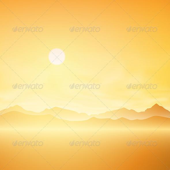 GraphicRiver Simple Landscape 5414619