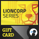 Lioncorp Series - Gift Card - GraphicRiver Item for Sale