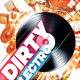 Dirty Electro Party Flyer - GraphicRiver Item for Sale