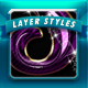 Super Glossy Layer Styles V1 - GraphicRiver Item for Sale