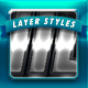 Clean Metal Layer Styles  - GraphicRiver Item for Sale