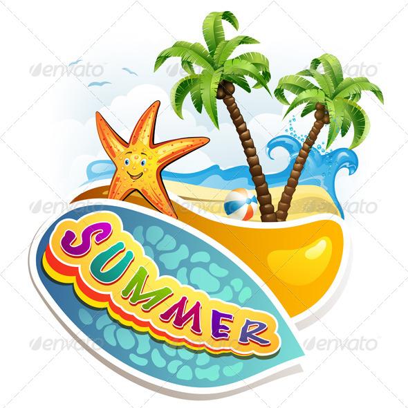 GraphicRiver Summer Beach 5415266