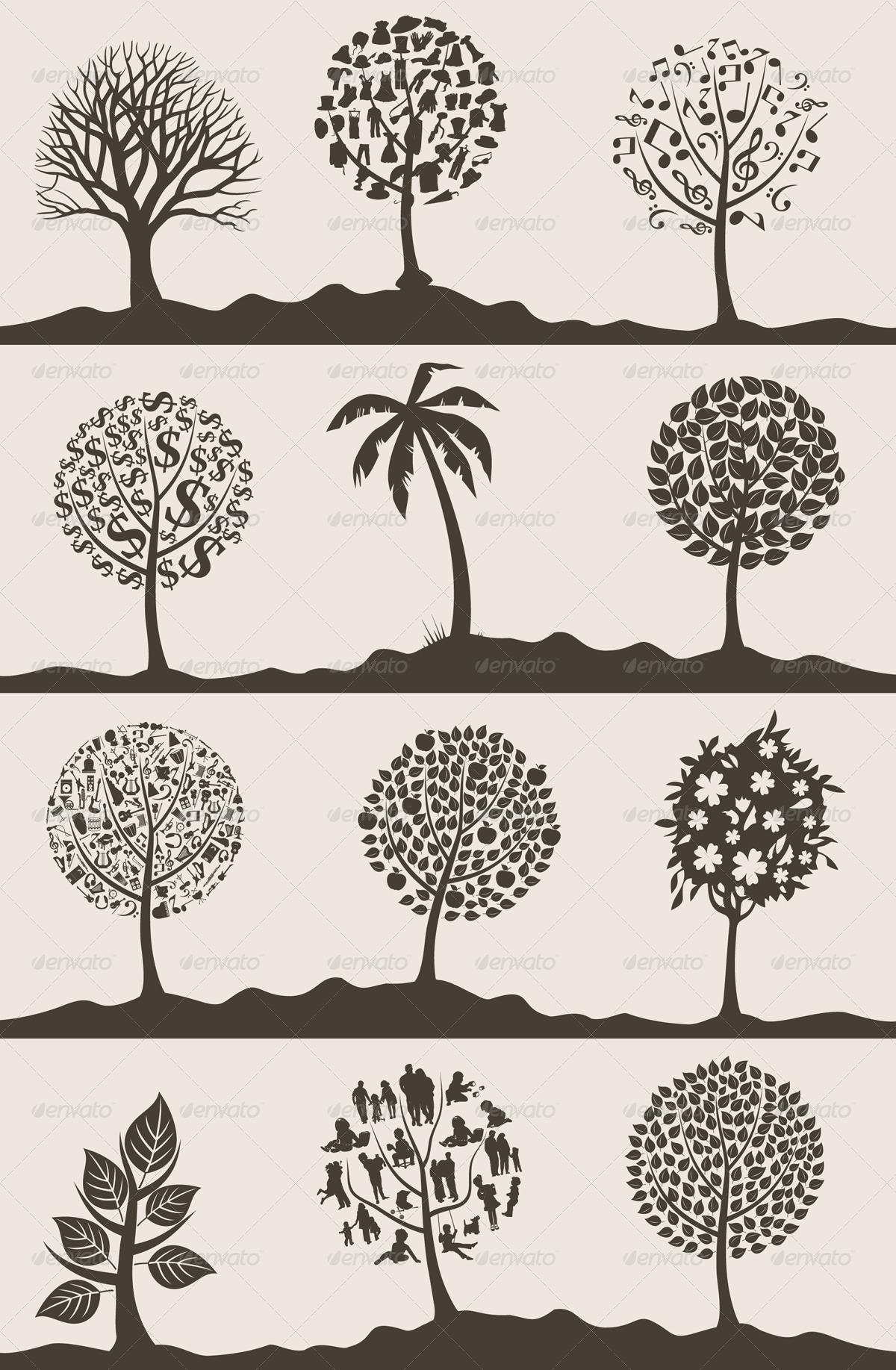 Wood tree2