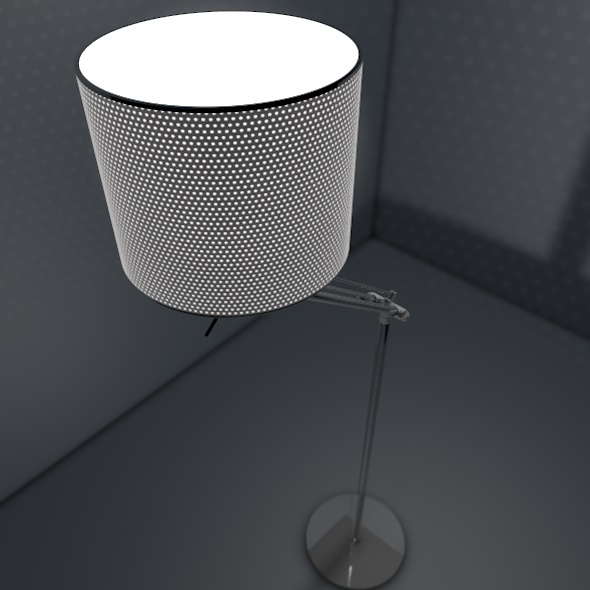 Sleek Lamp Model - 3DOcean Item for Sale