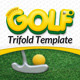 Mini Golf and Kids Golf Event - Trifold Template - GraphicRiver Item for Sale