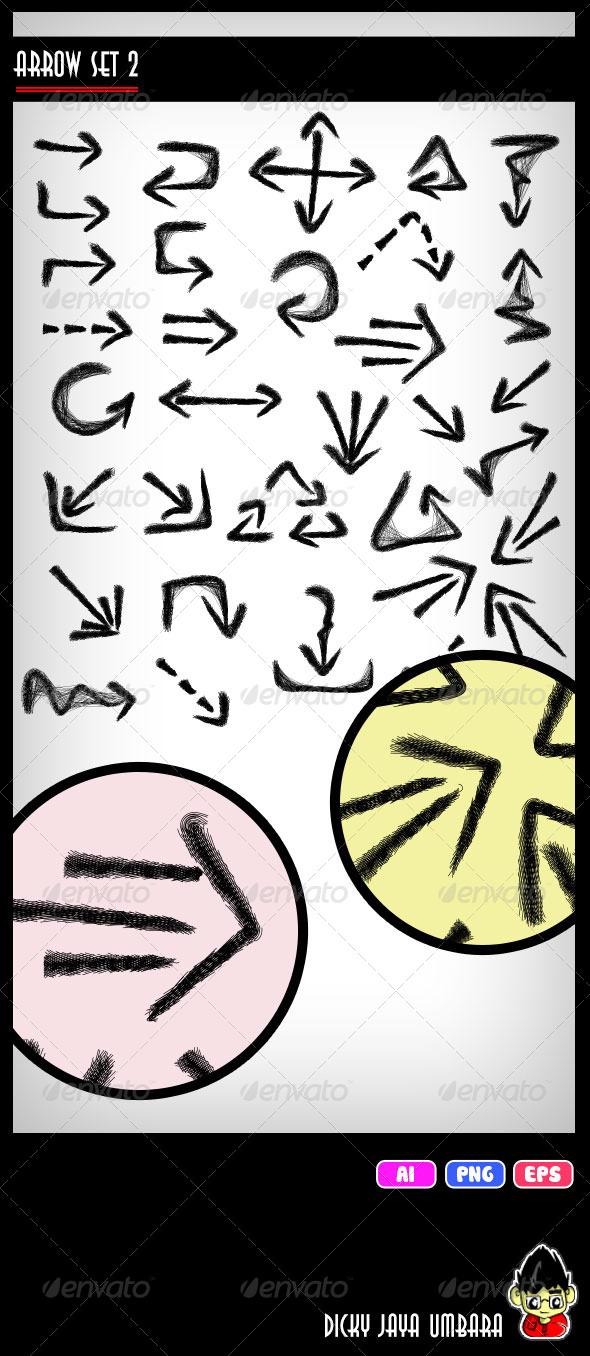 GraphicRiver Arrow Set 2 5403874