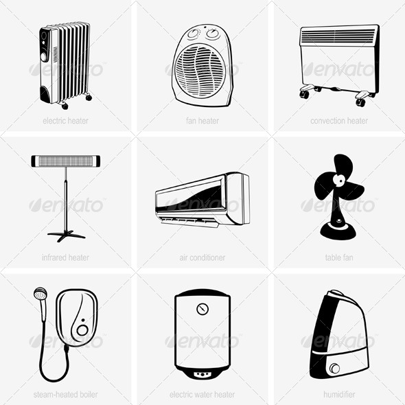 GraphicRiver Home Appliances 5417744