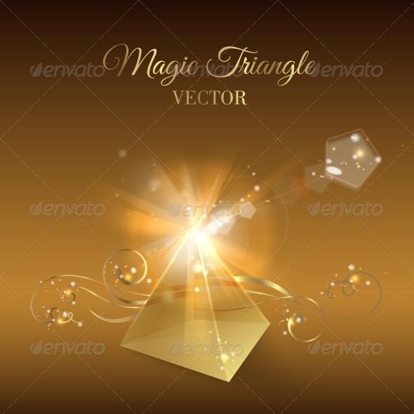 GraphicRiver Golden Pyramid 5417756