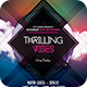 Thrilling Vibes Flyer - GraphicRiver Item for Sale