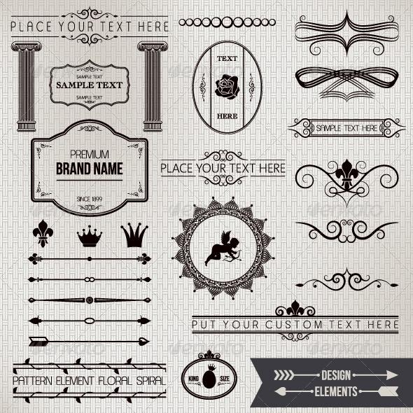 Design Elements Part 1 - Decorative Symbols Decorative