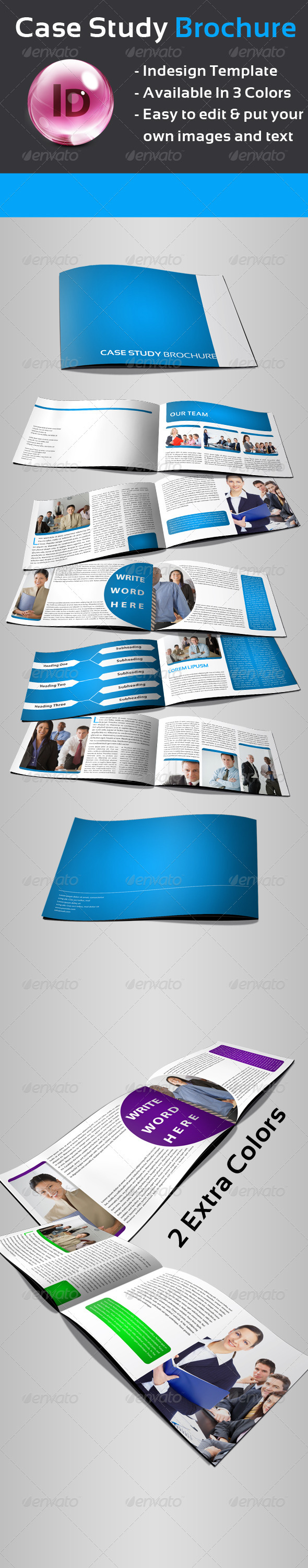 GraphicRiver Case Study Brochure 557649