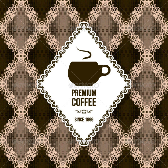 GraphicRiver Coffee Background 5402431