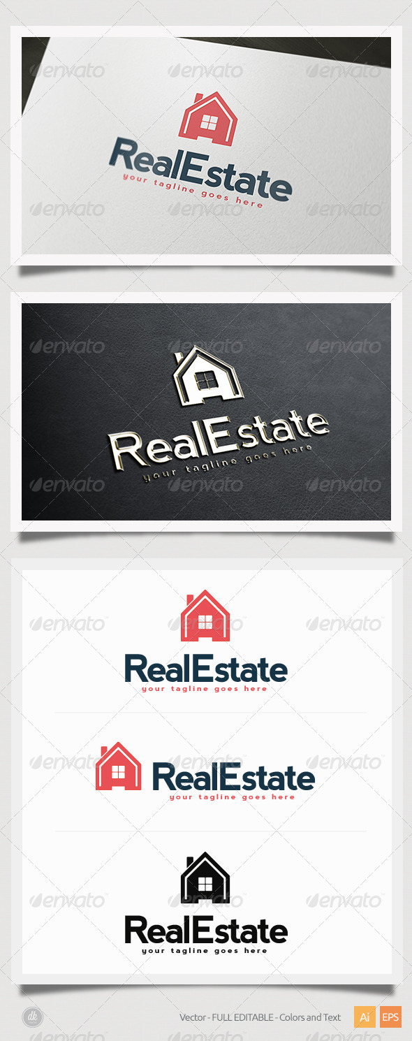 GraphicRiver Real Estate Logo 5419176