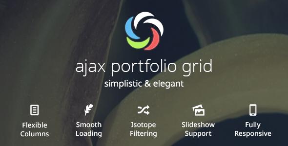 CodeCanyon Ajax Portfolio Grid for WordPress 5419246
