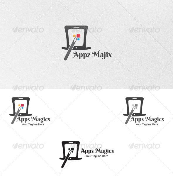 GraphicRiver Apps Magics Logo Template 5419382