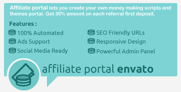 CodeCanyon Affiliate Portal 5369953