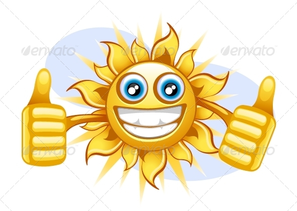 GraphicRiver Crazy Sun 5419517
