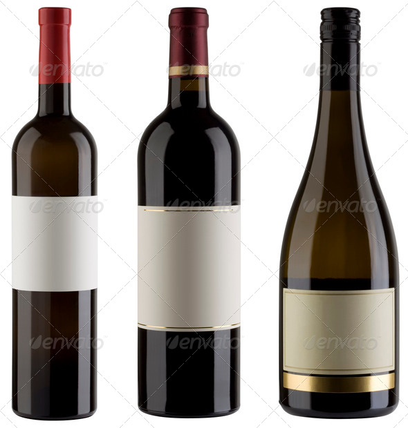 PhotoDune Wine bottles 557812