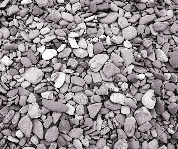 Pebble Background - Stock Photo - Images