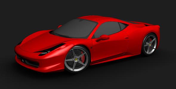 3DOcean Ferrari 458 Italia 5404217