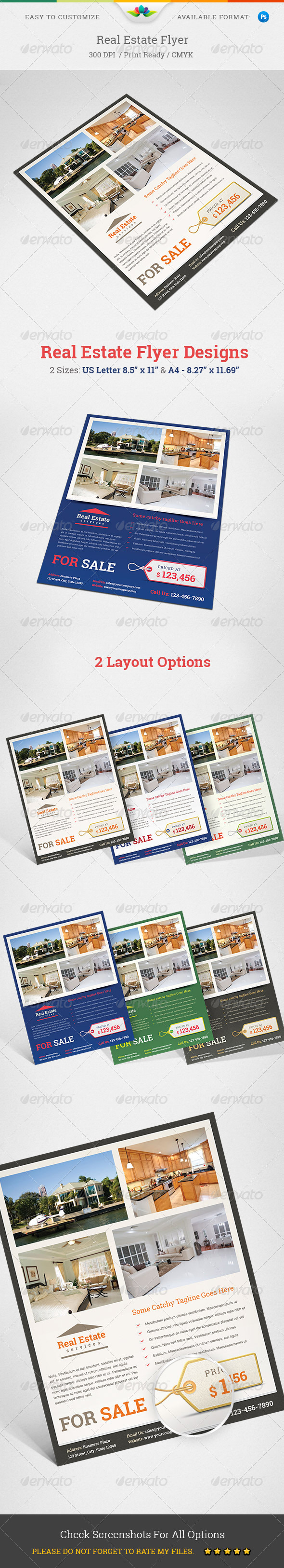 GraphicRiver Real Estate Flyer 5420618