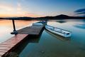 Boat on Lake - PhotoDune Item for Sale