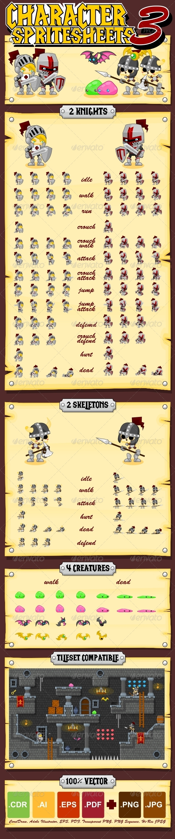 GraphicRiver Characters Spritesheet 3 5420777