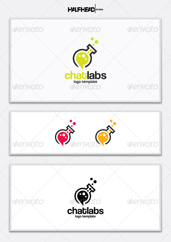 GraphicRiver ChatLabs Logo Template 5420986