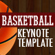 GAME PLAN - Basketball Keynote Template