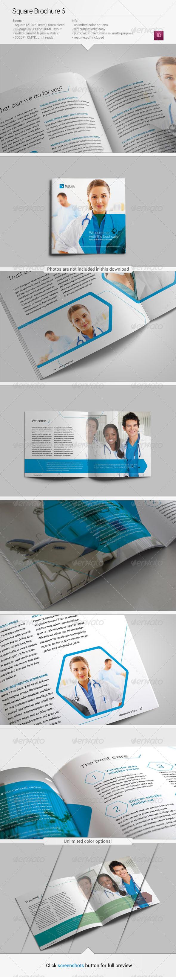 GraphicRiver Square Brochure 6 5421871