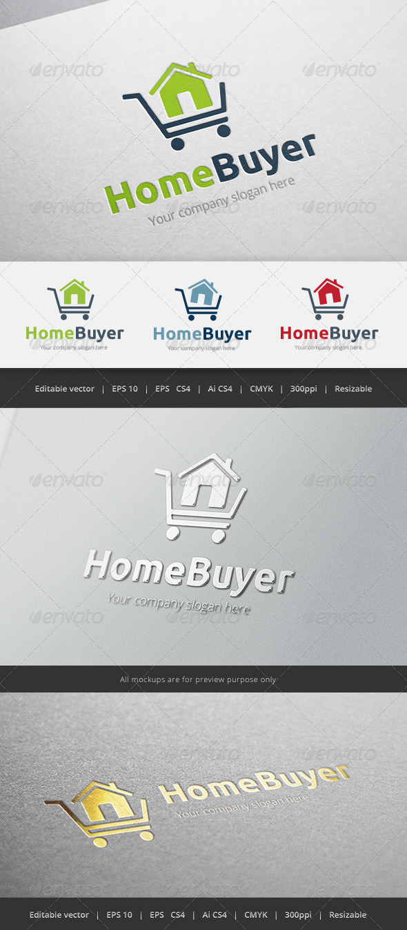 GraphicRiver Home Buyer Logo 5421890