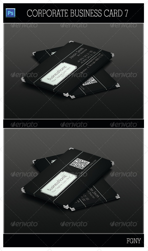 GraphicRiver Corporate Business Card 7 5399510