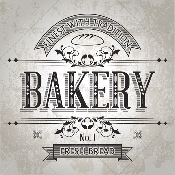 GraphicRiver Bakery Label 5422725
