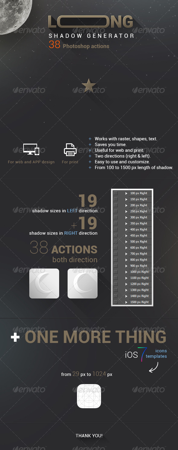 GraphicRiver Long Shadow 5422887