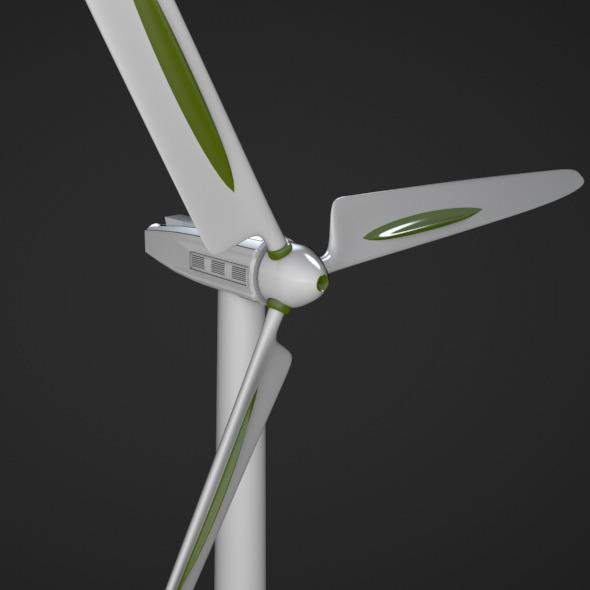 3DOcean Wind Turbine 5423537
