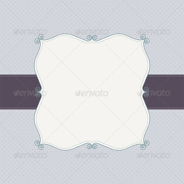 GraphicRiver Invitation Border Frame Background 5423791