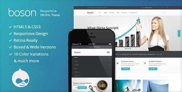 Boson – Responsive Multi-Purpose Drupal theme (Corporate) | ThemeForest